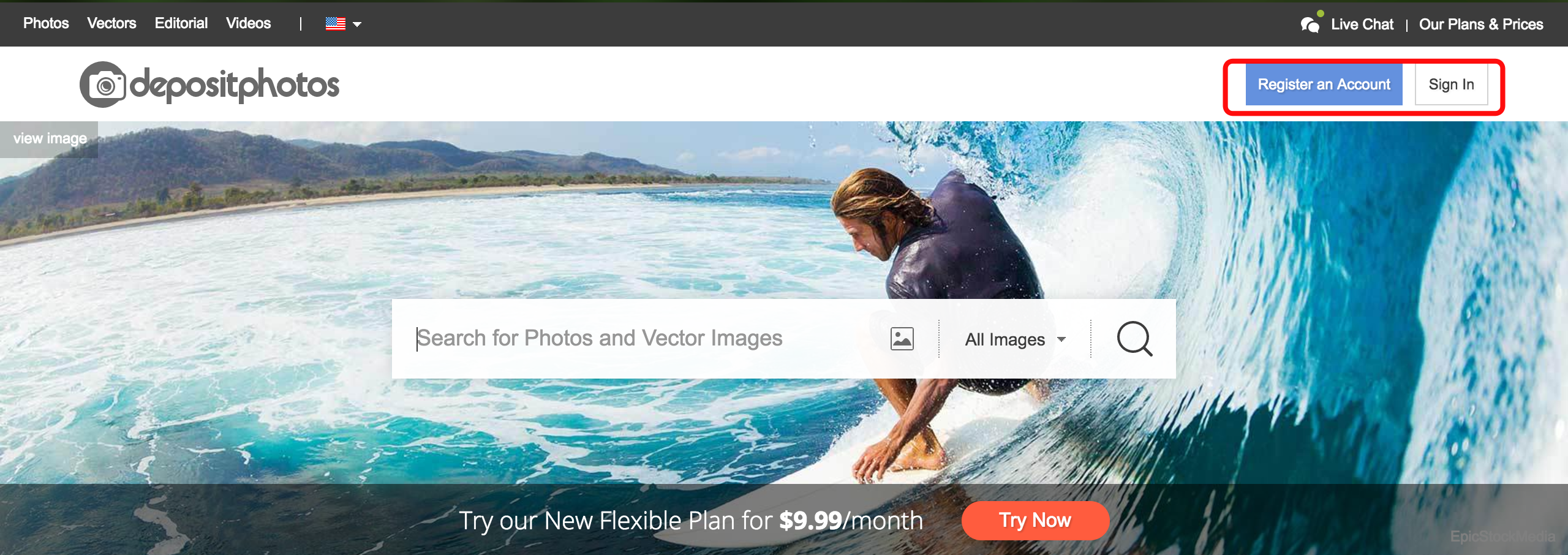 deposit-photos-webpage-helps-to-earn-money-for-photographers
