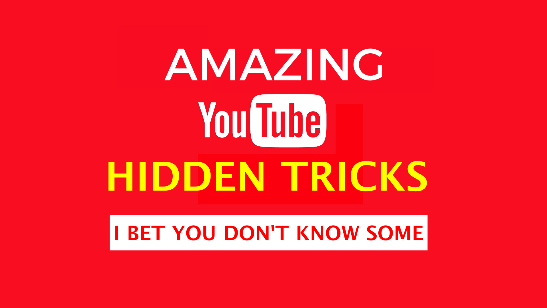 amazing-youtube-hidden-tricks-you-dont-know