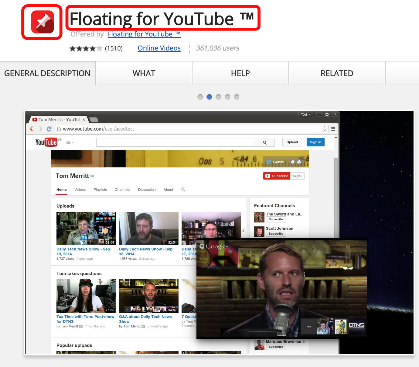 floating-for-youtube-extention-google-chrome