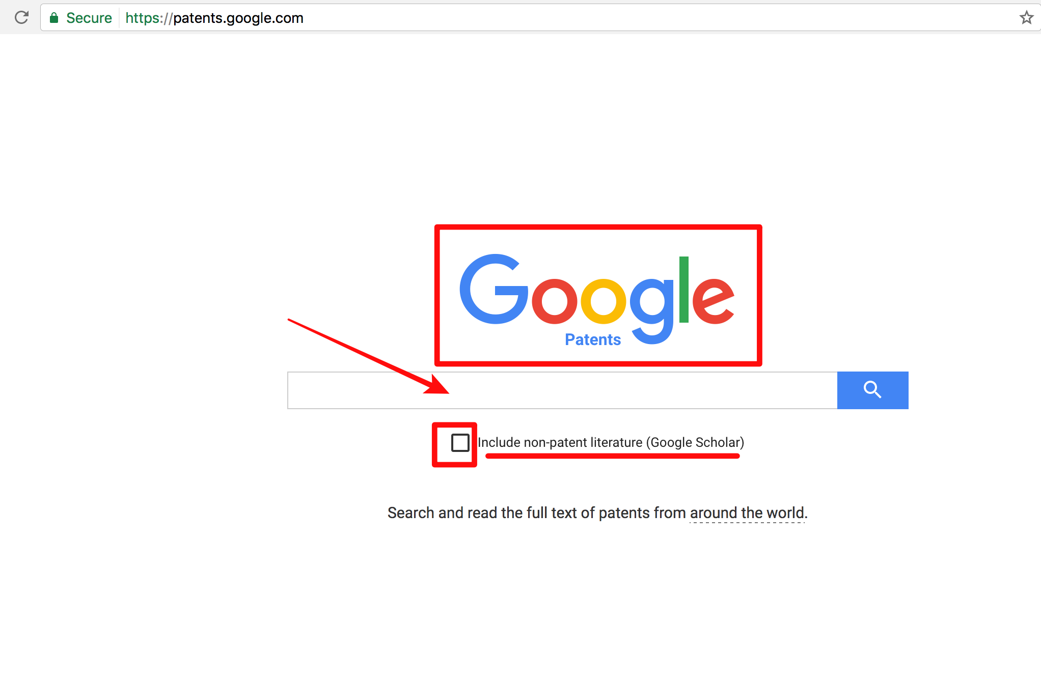 google-patents-search
