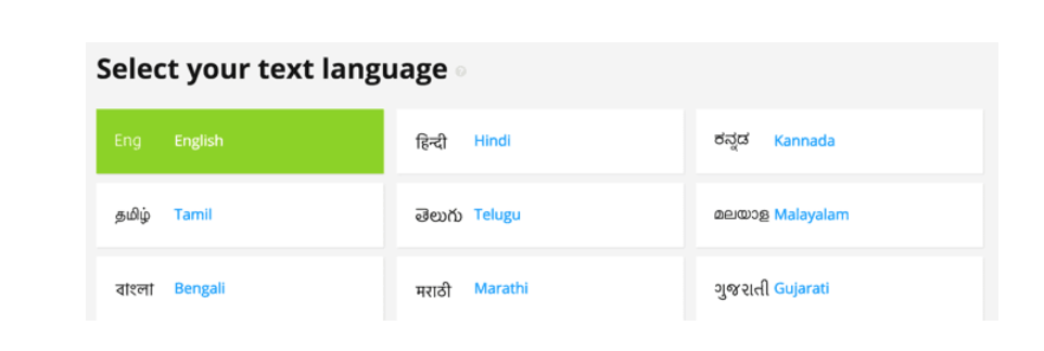 select-your-text-language