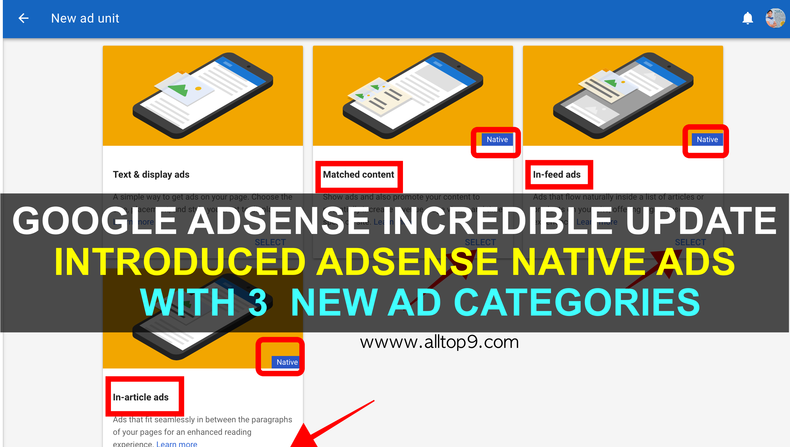 google-adsense-incredible-update-introducing-adsense-native-ads-infeed-inarticle-matchedcontent-ad-categories