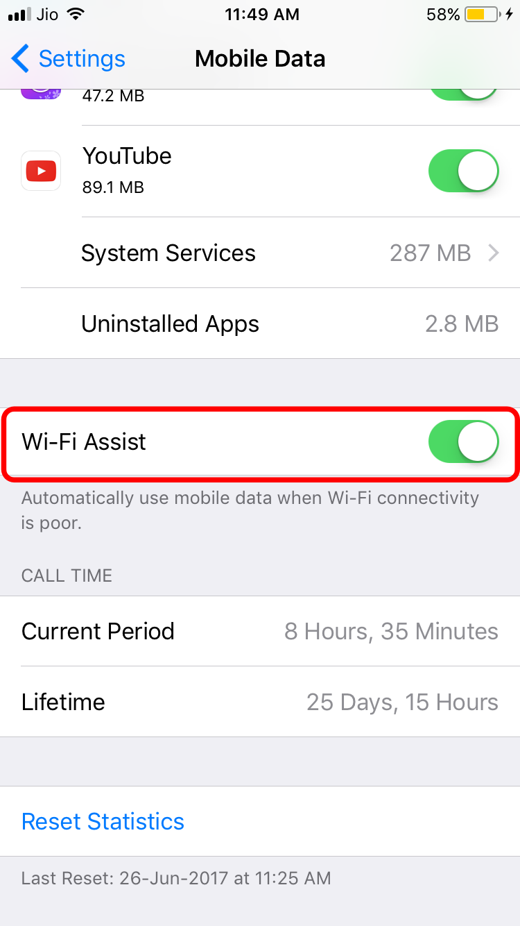 wifi-assist-mobile-data-cosumption