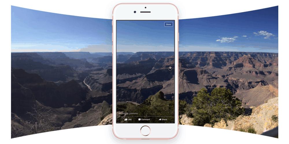 360-degree photos on Facebook