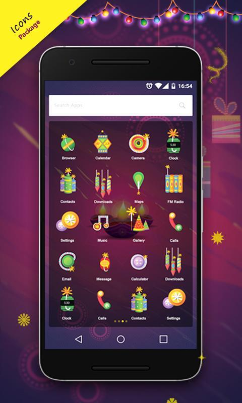 diwali-theme-applied-icons-changes-to-diwali-lights-on-xiaomi-phone-mobile