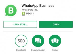 Download and Install WhatsApp Business App