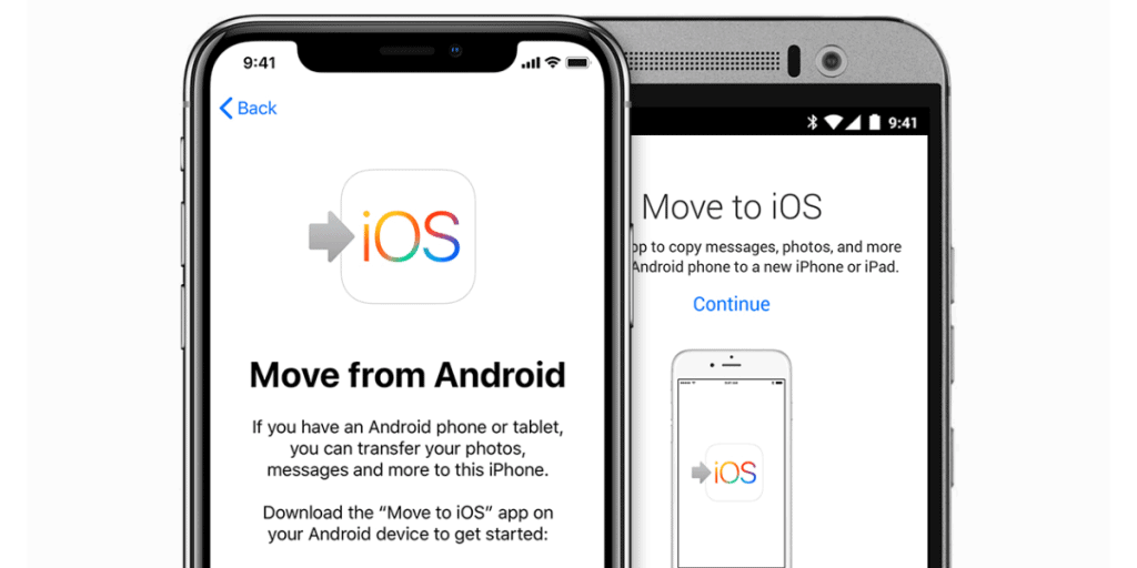 Transfer Android to iPhone