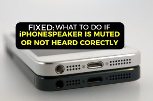 What to do if Your iPhone's Speaker is Muted or Not Heard Correctly