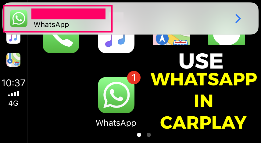 use-whatsapp-in-carplay-in-your-car
