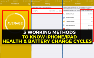 3 Working Ways to Check the iPhone Health and Battery Charge Cycles