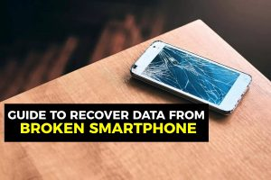 How to Recover Data Files from a Broken Smartphone