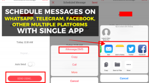How to Schedule Messages on WhatsApp, Telegram and Others Platforms