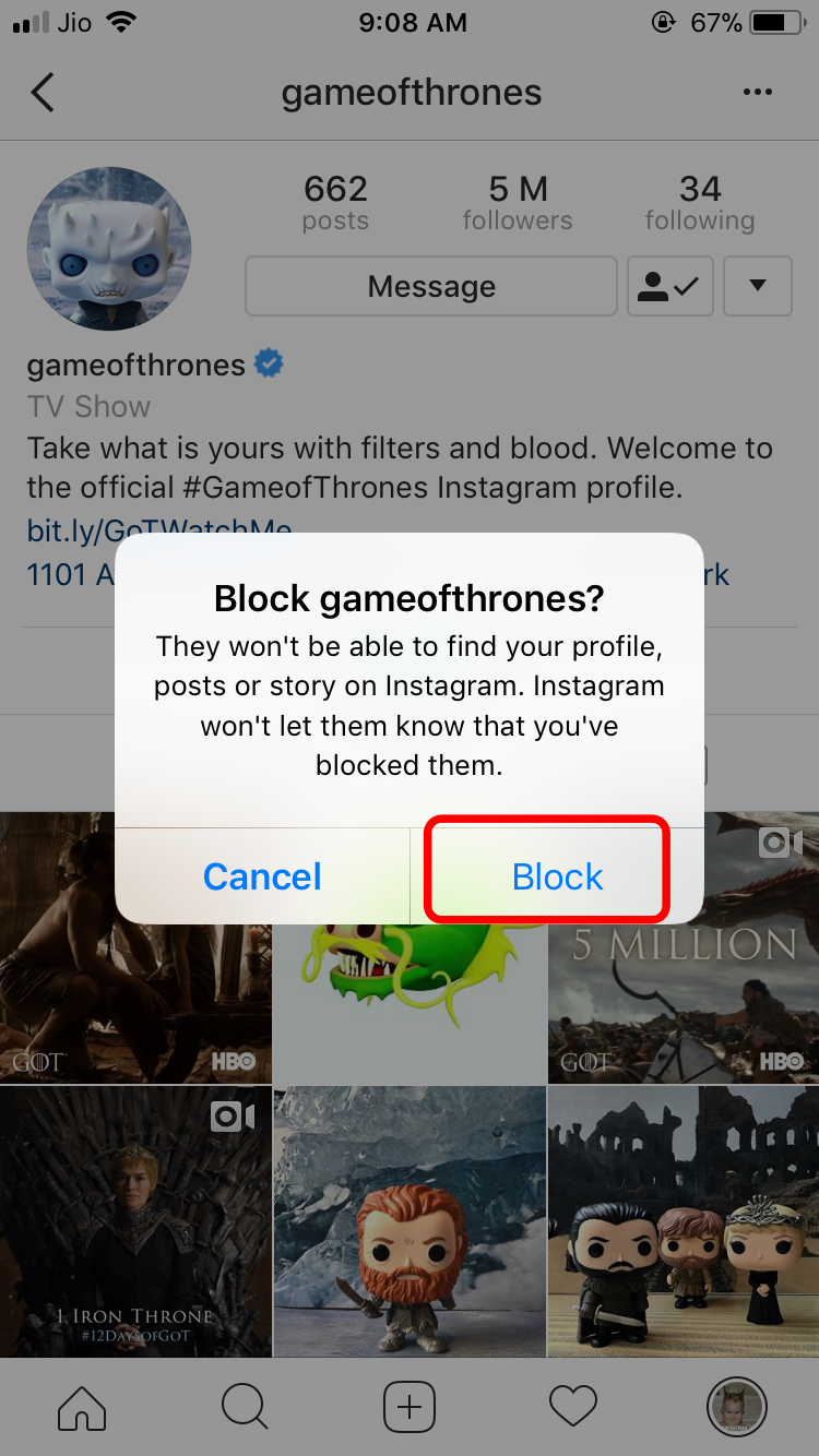 confirm-blocking-insta-profile-by-clicking-on-confirm