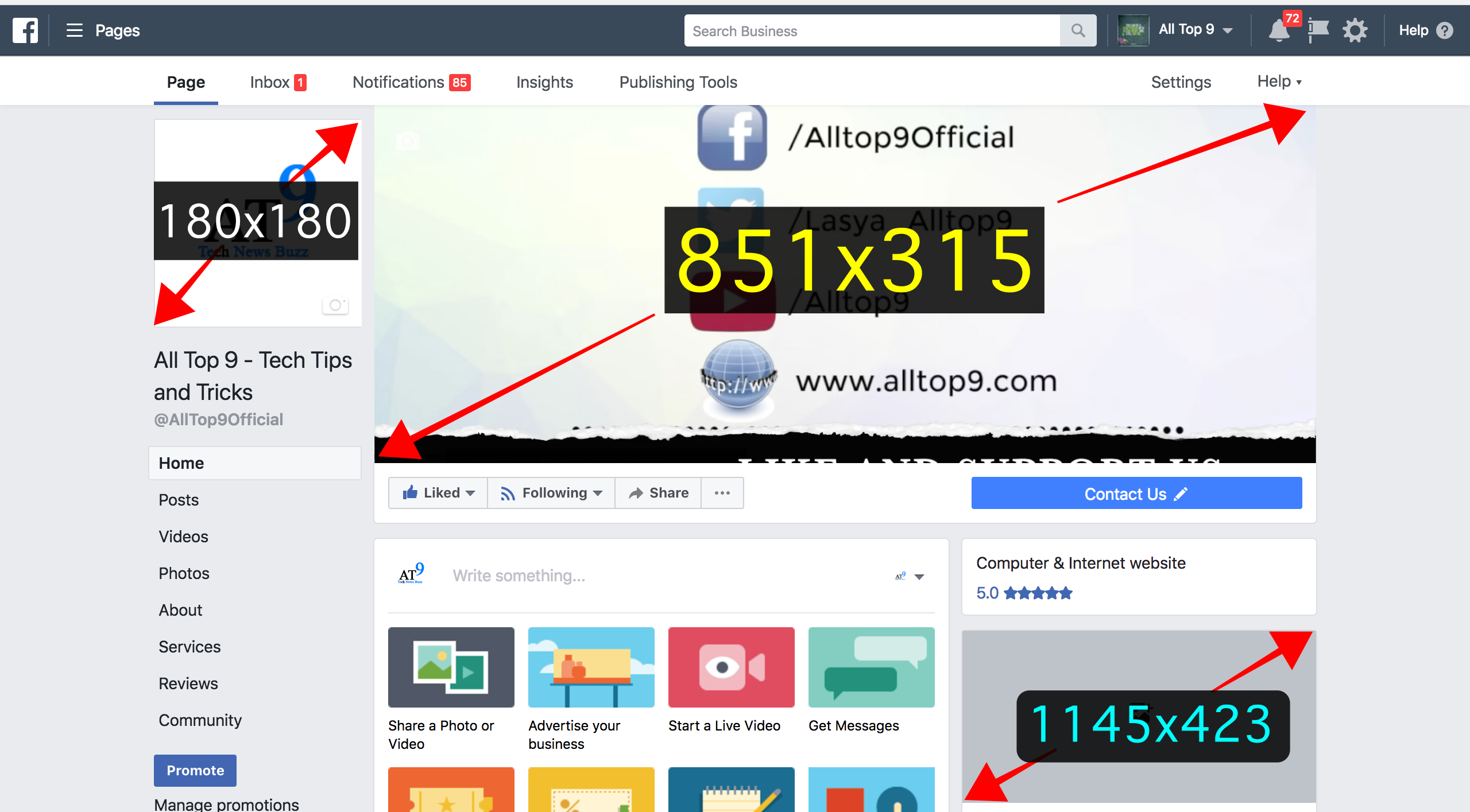 facebook-cover-pic-profile-pic-post-image-dimensions-measurement-sizes