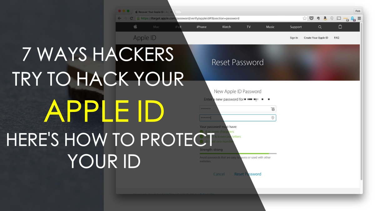 7 Ways that Hackers Try to Get Into your Apple ID and how to Protect It 0599718d78