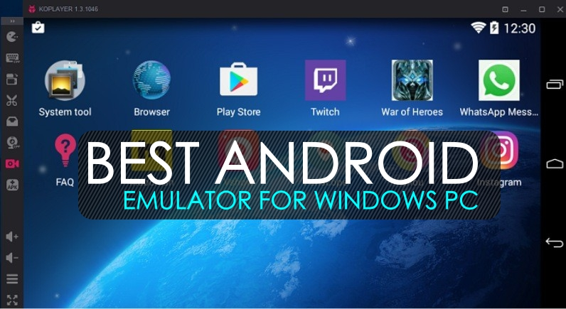 android emulator for windows pc