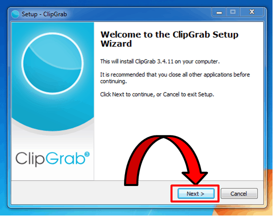 ClipGrab Setup to Download YouTube Videos