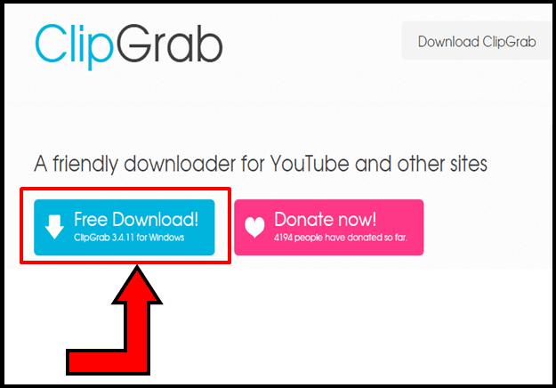 How to download YouTube Videos using ClipGrab