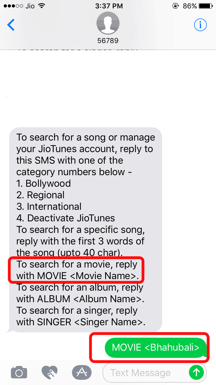 select-movie-type-movie-name-send-56789-number