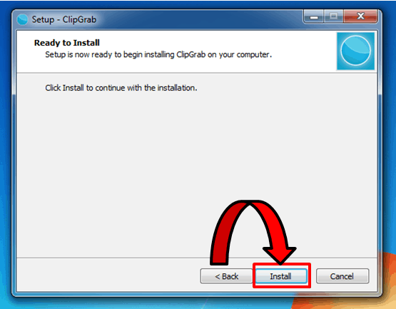 Install ClipGrab