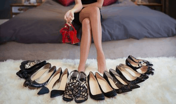 average woman owns more than 25 pairs of shoes