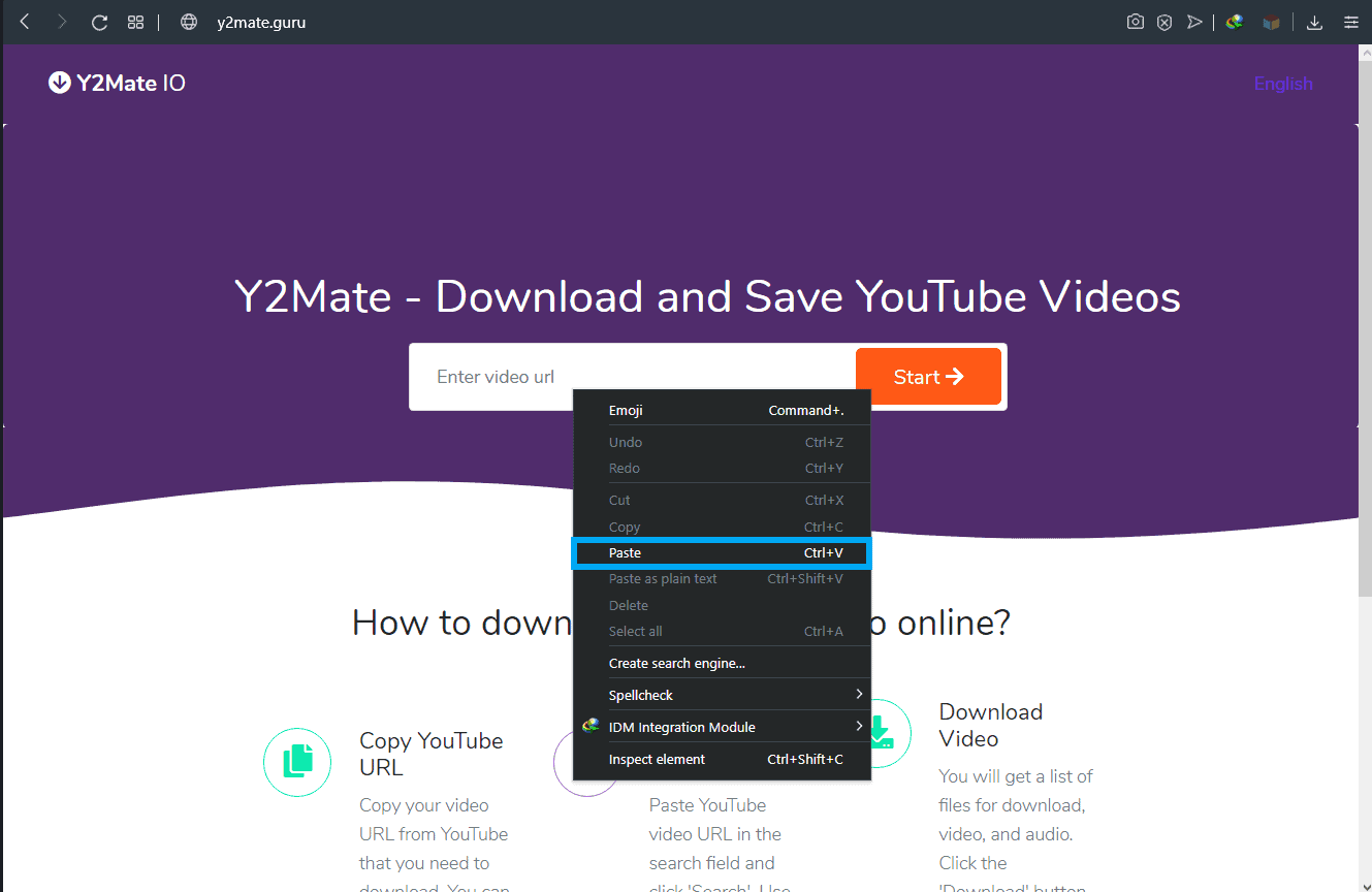 How to download videos from YouTube using Y2mate.guru-2