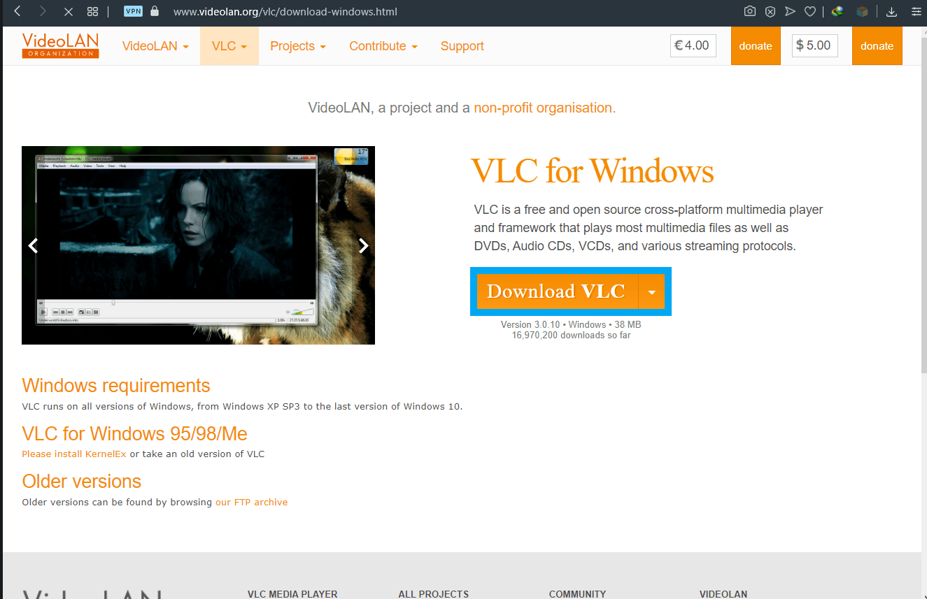 How to download videos from YouTube using VLC-1