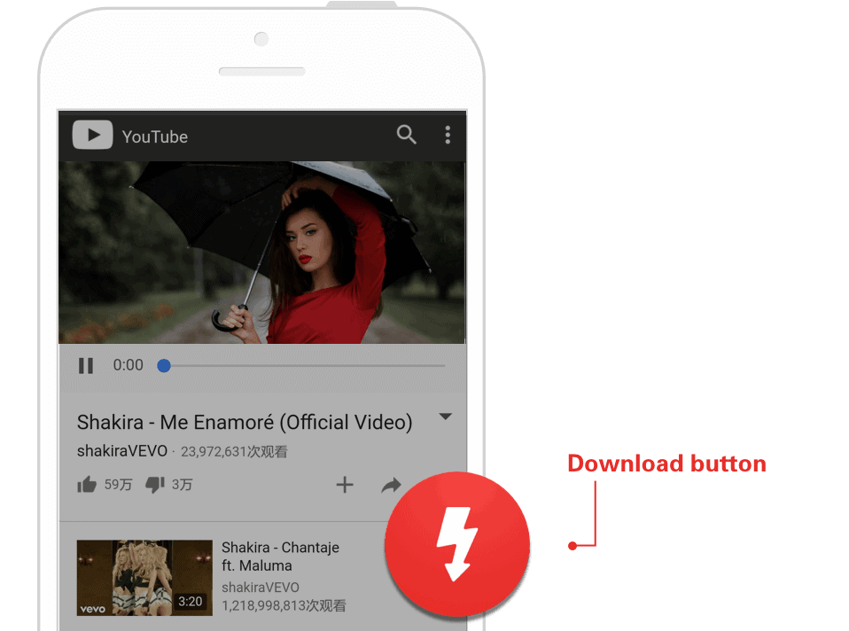 How to download videos from YouTube using instube-2