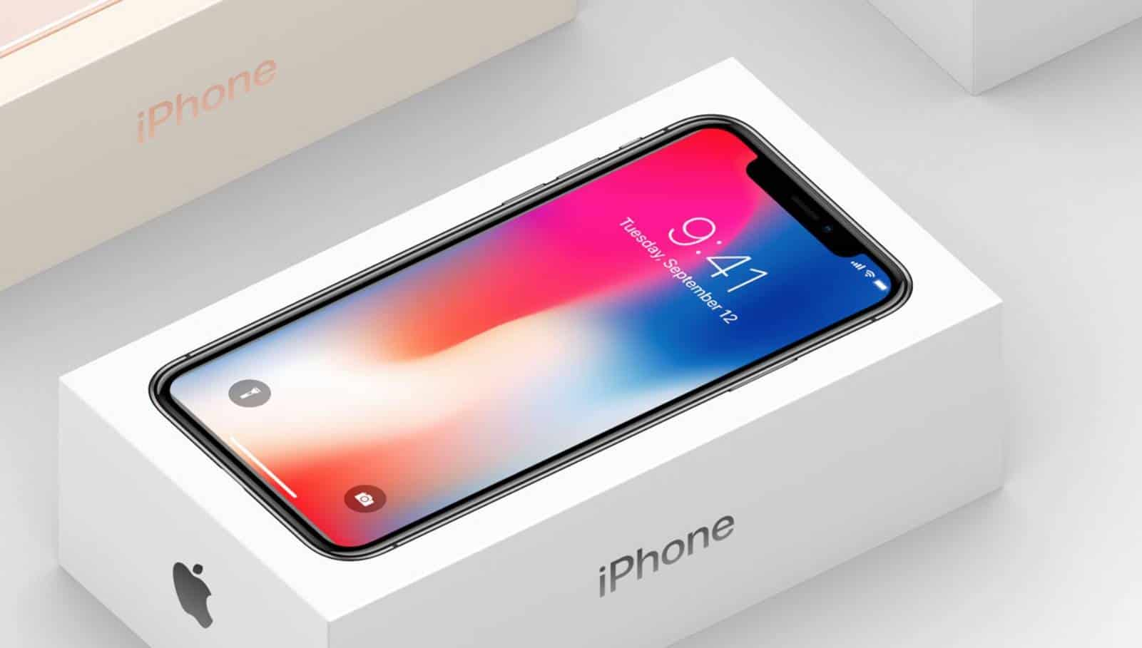 Real and fake iPhones packaging