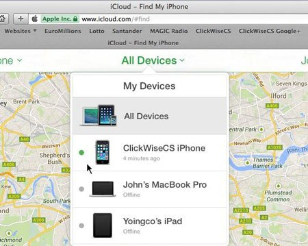 Image result for recover iphone passcode using find my iPhone