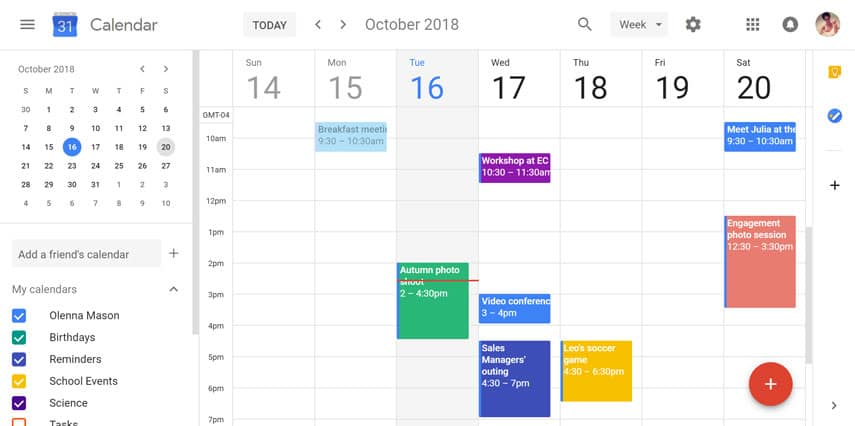 google calendar tricks